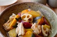 ほっこり♪鶏肉と秋野菜の煮物