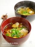 やきつべのだしで作る和風鶏スープ