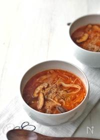 『韓国家庭料理の定番!*チャムチキムチチゲ(ツナキムチチゲ)*』
