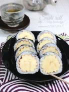 柚子香る、伊達巻き巻き寿司。
