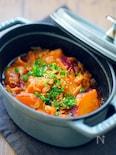 【無水調理】サツマイモのコチュジャン煮