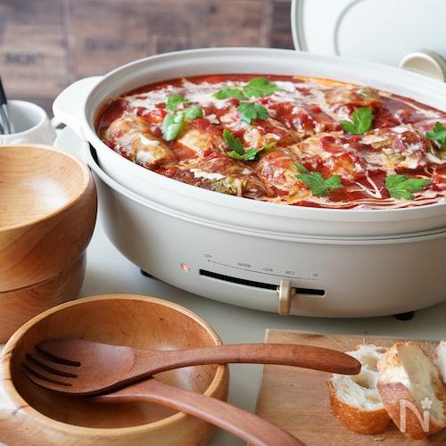 <BRUNO>鶏肉のロールキャベツ〜トマトクリーム煮込み〜