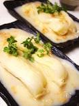 丸ごと白菜クリームIn干し貝柱ソース煮
