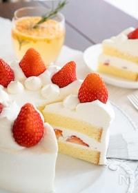 『基本のいちごのショートケーキ』