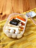 長芋と人参とうずらの卵の和風ピクルス