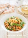 【作り置き】絹さやとにんじんのツナ豆サラダ 栄養バランス満点