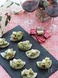 ワインともに♪生ハムチーズと山芋のハーモニー