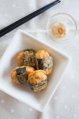 白身魚揚げののり巻きピカタ ピリ辛和風マヨネーズ