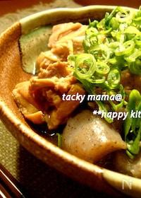 『圧力鍋でお肉ほろほろ♪鶏肉とこんにゃくのピリ辛味噌煮込み』