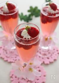 『桜色のサイダーゼリー』