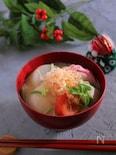 上品な白味噌仕立て 関西風雑煮