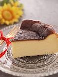 簡単*本格バスチー*混ぜて焼くだけ*バスク風チーズケーキ