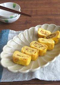 『簡単アレンジ卵☆お弁当やおつまみに♪フライドオニオンの卵焼き』