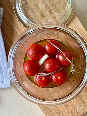 つけて置くだけ!すっきりトマトマリネ