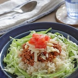 子どもも大好き!辛くない玄米タコライス