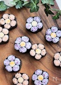 『桃の花【飾り巻き寿司】』