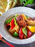 ご飯が進む*ホクホク長芋と鶏肉のスタミナ炒め【下味冷凍】