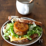 照り焼きチーズ蓮根サンド