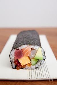 海鮮恵方巻き(海鮮太巻き)