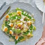 レンチンで一発♪春の温野菜サラダ