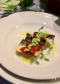 『イタリア発!万能なオリーブソース*魚やチキン、パスタソースに』
