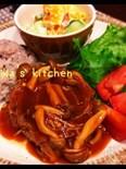 栄養満点♪ひじきとレンコンのお豆腐入りハンバーグ
