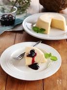 電子レンジで作る!簡単チーズケーキ