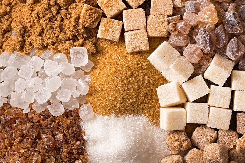 砂糖の種類と特徴|グラニュー糖、上白糖、三温糖、きび砂糖、てんさい糖、粉砂糖、氷砂糖