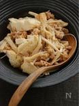 とうふとえのきの納豆炒め