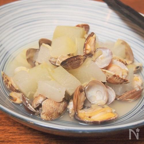 台湾風冬瓜とアサリのショウガ煮(翌日ランチのお楽しみ付)