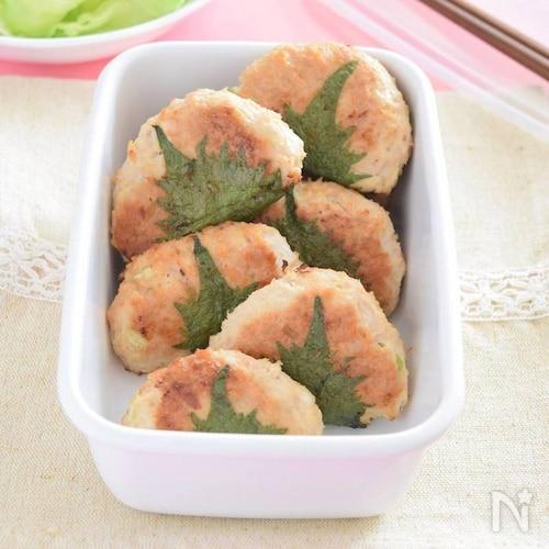 簡単☆鶏つくねの大葉巻き 作り置きレシピ