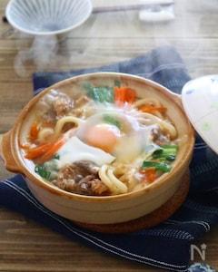 【ごちそううどん】チョンゴル(韓国すき焼き)煮込みうどん