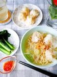 香港風 海老ワンタン麺 【海老がごろっ!】
