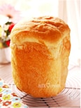 釜のび抜群♬HBで作るパン屋さんの食パン*ほんのり甘め