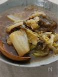 白菜とたっぷりねぎのトロロ昆布煮