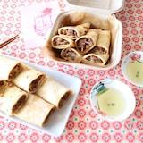 ホットケーキミックスで台湾人気のもちもちクレープ!蛋餅