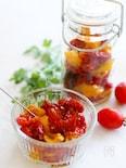 低温オーブンでじっくり乾燥*セミドライトマト