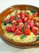 トマトとシソのカッペリーニ