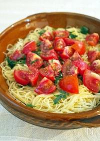『トマトとシソのカッペリーニ』