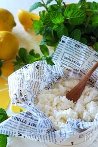【牛乳で自由研究】牛乳+レモン汁=カッテージチーズ+乳清