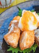 フライパン&少量の油で作る!ブリ竜田揚げ おろしポン酢がけ