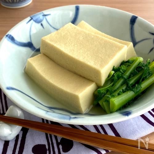 とっても簡単!高野豆腐の煮物