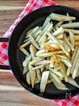 新食感!里芋のガーリック炒め