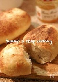 『出来ちゃった!オーブントースターで焼きたてフランスパン、クーペ。』