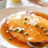 ふんわり卵のカニ玉*天津飯(カニカマ使用)