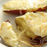絶品おやつ!焼き芋ハニーチーズ