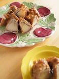 りんごの肉巻き~ピーナツバターソース~