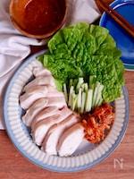 むね肉で柔らか!韓流鶏ハムポッサム