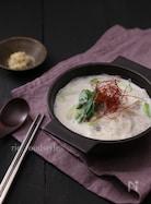 レンジで作る!生姜ミルクの春雨スープ