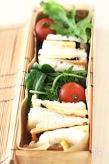 うすさつの和風サンドイッチ